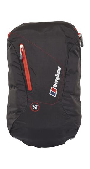 Berghaus F-Light 20 Daypack Black/Extreme Red